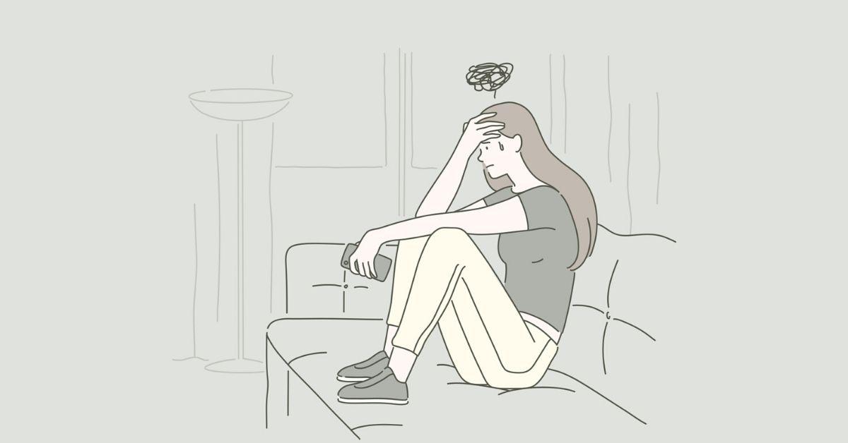 paura di rimanere in casa da soli