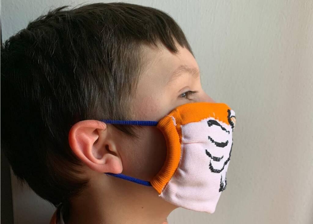 maschere bambini covid